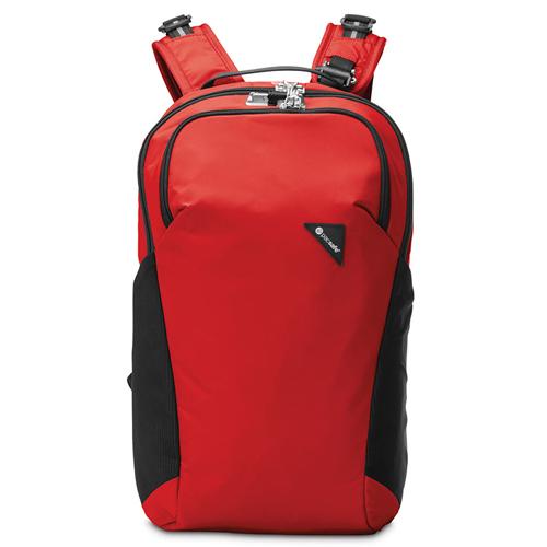 3ba34efadb23 Рюкзак с максимальной защитой от карманников Vibe 20 красный в ...