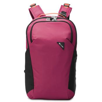 Рюкзак с максимальной защитой от карманников Vibe 20 фиолетовый class=