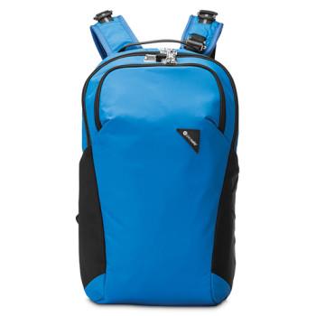 Рюкзак с максимальной защитой от карманников Vibe 20 голубой class=