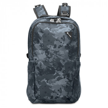 Рюкзак с максимальной защитой систем антивор Vibe 25 синий камуфляж class=