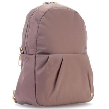 Женский рюкзак-сумка Citysafe CX Covertible Backpack бежевого цвета class=