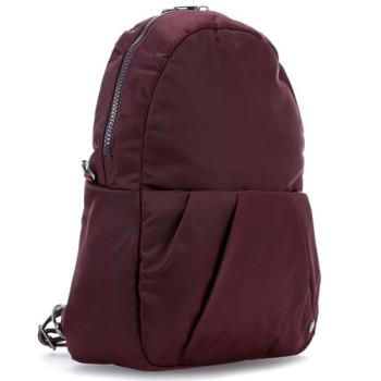 Женский рюкзак-сумка Citysafe CX Covertible Backpack бордового цвета class=