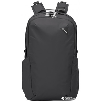 Рюкзак с максимальной защитой систем антивор Vibe 25 черный class=