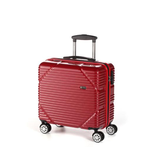 """Маленький чемодан 18"""" на колесах цвет красный Ferrari"""