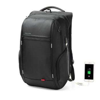 Рюкзак черного цвета с отделением для ноутбука 13,3 дюймов class=