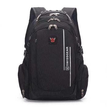 Удобный рюкзак для города черный class=