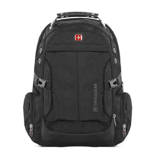 Городской рюкзак черный SwissGear 7698 в интернет магазине Fosfor