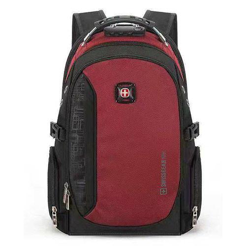 Рюкзак с кодовым замком красный
