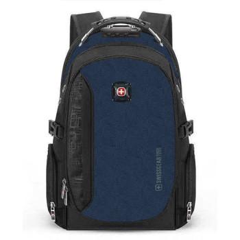 Рюкзак с кодовым замком синий class=