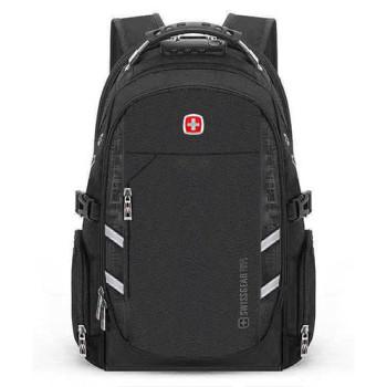 Рюкзак с кодовым замком черный class=