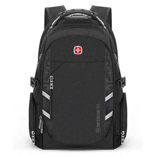 Рюкзак с кодовым замком черный