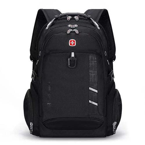 Рюкзак с ортопедической спинкой черный