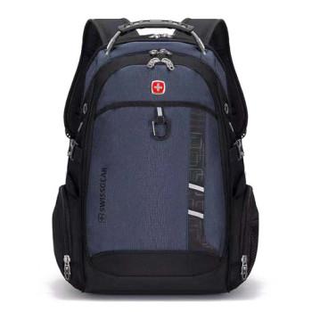 Рюкзак с ортопедической спинкой синий class=
