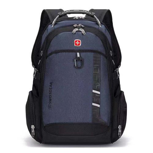 Рюкзак с ортопедической спинкой синий