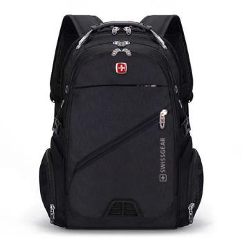 Черный мужской городской рюкзак class=