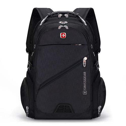 Черный мужской городской рюкзак