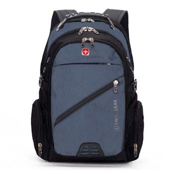 Синий мужской рюкзак для города class=