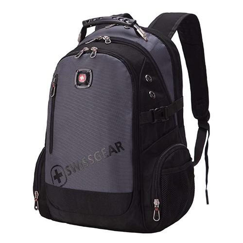 Мужской городской рюкзак серый