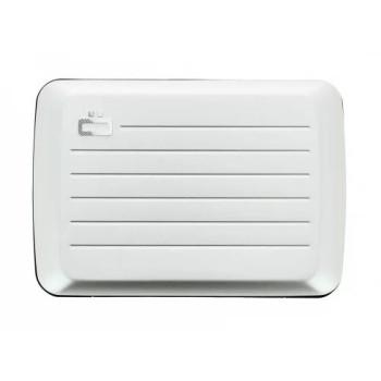 Визитница-портмоне с RFID защитой Stockholm V2 серебристого цвета class=