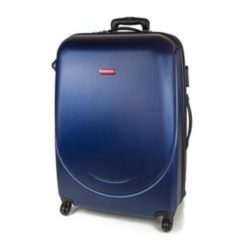 Большой чемодан на колесах Gravitt черный class=