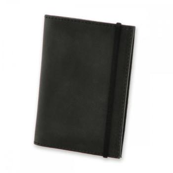 Обложка на паспорт из натуральной кожи Blank Note Цвет Графит Блокнот  class=