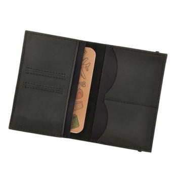 Многофункциональная обложка на паспорт Blank Note Графит Блокнот в под class=