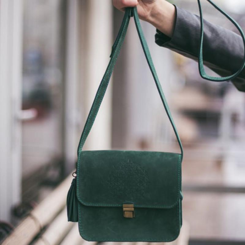 7a1ff71bdd90 Купить кожаная бохо сумка Blank Note. Интернет магазин Украина.